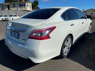 2015 Nissan Altima L33 Ti X-tronic White 1 Speed Constant Variable Sedan.