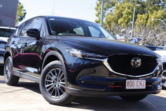 Used Mazda CX-5 KF2W7A Maxx SKYACTIV-Drive FWD Sport Toowoomba, 2019 Mazda CX-5 KF2W7A Maxx SKYACTIV-Drive FWD Sport Black 6 Speed Sports Automatic Wagon
