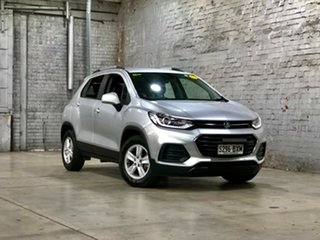 2017 Holden Trax TJ MY17 LS Silver 6 Speed Automatic Wagon.