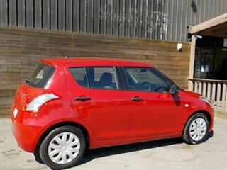 2011 Suzuki Swift FZ GA Red 4 Speed Automatic Hatchback