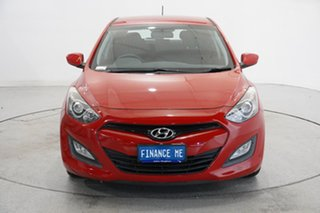 2013 Hyundai i30 GD Active Red 6 Speed Manual Hatchback.
