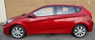 2018 Hyundai Accent RB6 MY19 Sport Red 6 Speed Sports Automatic Hatchback.