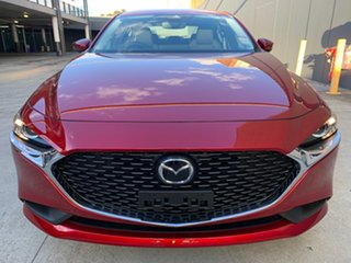2021 Mazda 3 BP2S7A G20 SKYACTIV-Drive Pure Soul Red Crystal 6 Speed Sports Automatic Sedan.