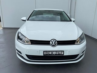 2016 Volkswagen Golf VII MY17 92TSI DSG White 7 Speed Sports Automatic Dual Clutch Hatchback.