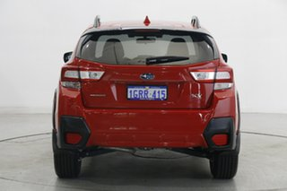 2018 Subaru XV G5X MY19 2.0i Premium Lineartronic AWD Red 7 Speed Constant Variable Wagon