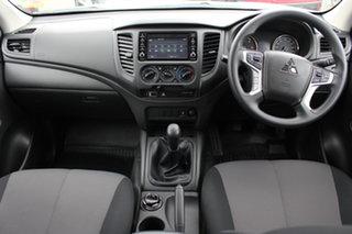 2021 Mitsubishi Triton MR MY21 GLX Club Cab White 6 Speed Manual Cab Chassis.