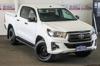 Toyota Hilux Glacier White Dual Cab.