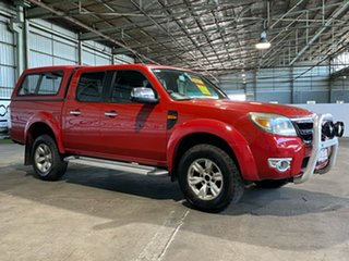 2011 Ford Ranger PK XLT Crew Cab Red 5 Speed Automatic Utility.