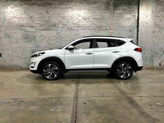 2017 Hyundai Tucson TLe MY17 Highlander AWD White 6 Speed Sports Automatic Wagon