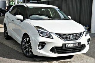 2020 Suzuki Baleno EW Series II GLX White 4 Speed Automatic Hatchback.