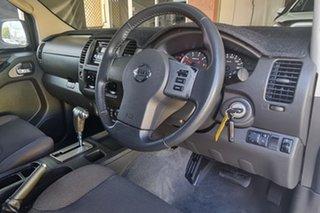 2009 Nissan Navara D40 ST-X White 5 Speed Automatic Utility.