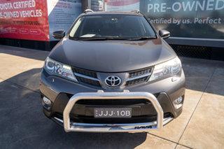 2014 Toyota RAV4 ASA44R MY14 Cruiser AWD Graphite 6 Speed Sports Automatic Wagon