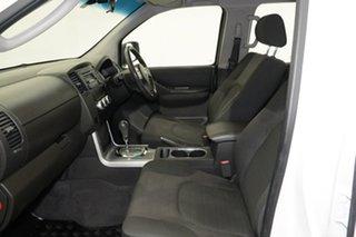 2014 Nissan Navara D40 S6 MY12 ST White 5 Speed Sports Automatic Utility