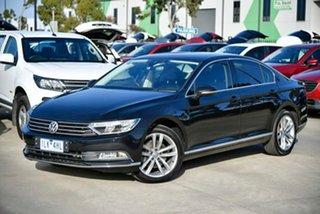 2015 Volkswagen Passat 3C (B8) MY16 140TDI DSG Highline Black 6 Speed Sports Automatic Dual Clutch.