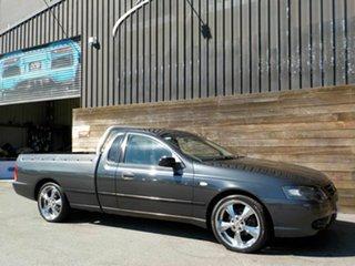 2008 Ford Falcon BF Mk II XL Ute Super Cab Grey 5 Speed Manual Utility.