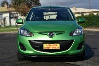 2011 Mazda 2 DE10Y2 MY12 Neo Green 4 Speed Automatic Hatchback.
