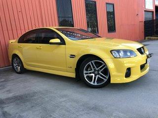 2010 Holden Commodore VE II SV6 Yellow 6 Speed Sports Automatic Sedan.