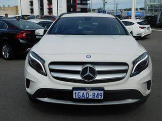 2016 Mercedes-Benz GLA-Class X156 806MY GLA180 DCT White 7 Speed Sports Automatic Dual Clutch Wagon.