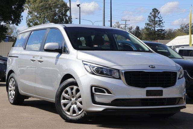 Used Kia Carnival YP MY19 S Bundamba, 2018 Kia Carnival YP MY19 S Silver 8 Speed Sports Automatic Wagon