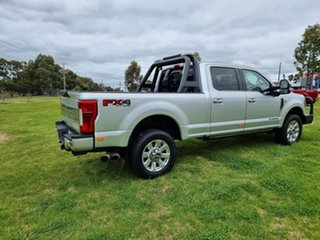 2019 Ford F350 (No Series) Platinum Silver Automatic Utility