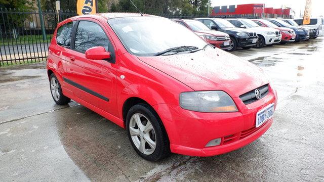 Used Holden Barina TK MY07 St James, 2007 Holden Barina TK MY07 Red 4 Speed Automatic Hatchback