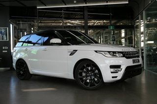 2017 Land Rover Range Rover Sport L494 17MY SDV8 HSE Dynamic White 8 Speed Sports Automatic Wagon.