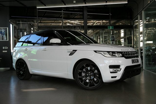 Used Land Rover Range Rover Sport L494 17MY SDV8 HSE Dynamic North Melbourne, 2017 Land Rover Range Rover Sport L494 17MY SDV8 HSE Dynamic White 8 Speed Sports Automatic Wagon