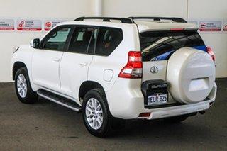 2013 Toyota Landcruiser Prado KDJ150R MY14 Kakadu Crystal Pearl 5 Speed Sports Automatic Wagon.