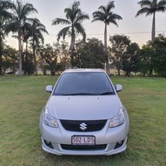 2007 Suzuki SX4 GYC S Silver 4 Speed Automatic Sedan.