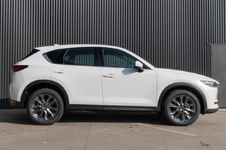 2021 Mazda CX-5 KF4WLA Akera SKYACTIV-Drive i-ACTIV AWD Snowflake White Pearl 6 Speed.