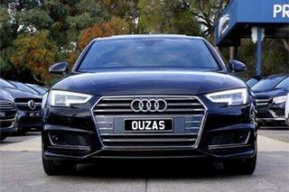 2017 Audi A4 B9 8W MY18 S Line S Tronic Quattro Black 7 Speed Sports Automatic Dual Clutch Sedan