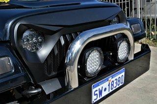 2005 Jeep Wrangler TJ MY2005 Sport Black 6 Speed Manual Softtop