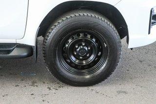 Toyota Hilux Glacier White Dual Cab