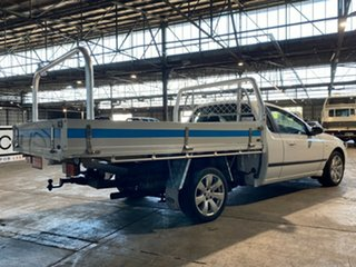 2007 Ford Falcon BF Mk II XL Super Cab White 4 Speed Automatic Cab Chassis