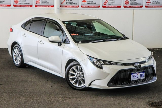 Pre-Owned Toyota Corolla Mzea12R Ascent Sport Myaree, 2020 Toyota Corolla Mzea12R Ascent Sport Crystal Pearl 10 Speed Constant Variable Sedan