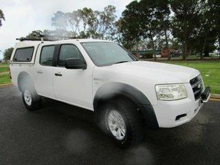 2007 Ford Ranger PJ 07 Upgrade XL (4x2) White 5 Speed Manual Dual Cab Pick-up