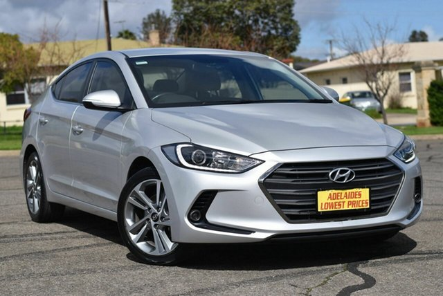 Used Hyundai Elantra AD MY18 Elite Enfield, 2018 Hyundai Elantra AD MY18 Elite Silver 6 Speed Sports Automatic Sedan