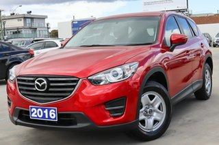 2016 Mazda CX-5 KE1072 Maxx Red 6 Speed Manual Wagon.