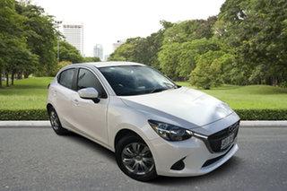 2015 Mazda 2 DJ2HA6 Neo SKYACTIV-MT White 6 Speed Manual Hatchback.