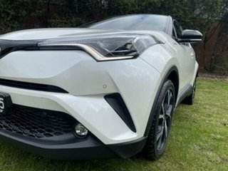 2017 Toyota C-HR NGX10R Koba (2WD) Crystal Pearl & Black Roof Continuous Variable Wagon.