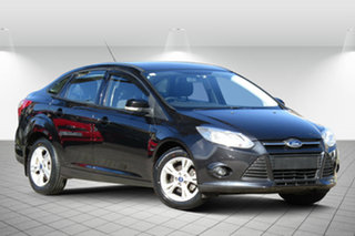 2013 Ford Focus LW MK2 Trend 8 Ball Black 6 Speed Automatic Hatchback.