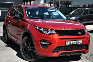 2016 Land Rover Discovery Sport L550 17MY HSE Firenze Red 9 Speed Sports Automatic Wagon.