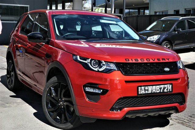 Used Land Rover Discovery Sport L550 17MY HSE Phillip, 2016 Land Rover Discovery Sport L550 17MY HSE Firenze Red 9 Speed Sports Automatic Wagon
