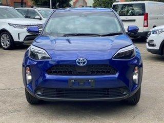 2020 Toyota Yaris Cross MXPJ15R GX AWD Lunar Blue 1 Speed Constant Variable Hatchback.