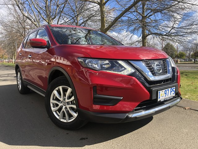 Used Nissan X-Trail T32 MY21 ST X-tronic 2WD Glenorchy, 2020 Nissan X-Trail T32 MY21 ST X-tronic 2WD Ruby Red 7 Speed Constant Variable Wagon
