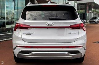 2021 Hyundai Santa Fe Tm.v3 MY21 Highlander DCT White 8 Speed Sports Automatic Dual Clutch Wagon.