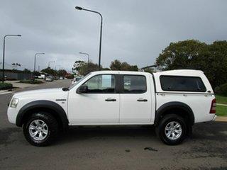 2007 Ford Ranger PJ 07 Upgrade XL (4x2) White 5 Speed Manual Dual Cab Pick-up.
