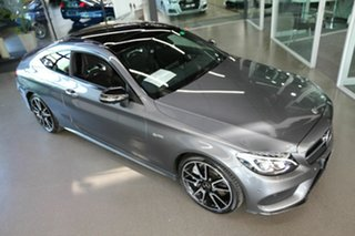 2018 Mercedes-Benz C-Class C205 808MY C43 AMG 9G-Tronic 4MATIC Grey 9 Speed Sports Automatic Coupe