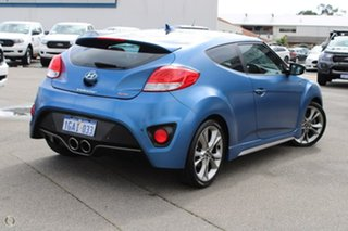 2015 Hyundai Veloster FS4 Series II SR Coupe D-CT Turbo Blue 7 Speed Sports Automatic Dual Clutch
