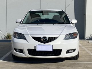 2007 Mazda 3 BK10F2 Maxx Sport White 4 Speed Sports Automatic Sedan.
